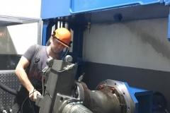 Испытание гидронасоса рабочим объемом 1000 куб.см